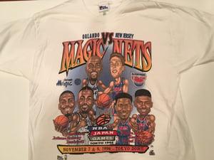 Image of Vintage NBA Tee | Magic vs Nets | 1996