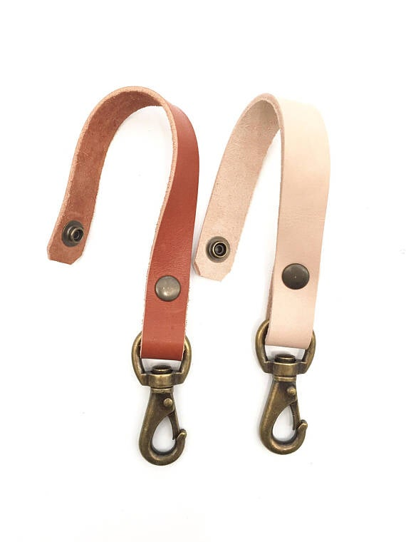 Image of Leather Belt Key Loop