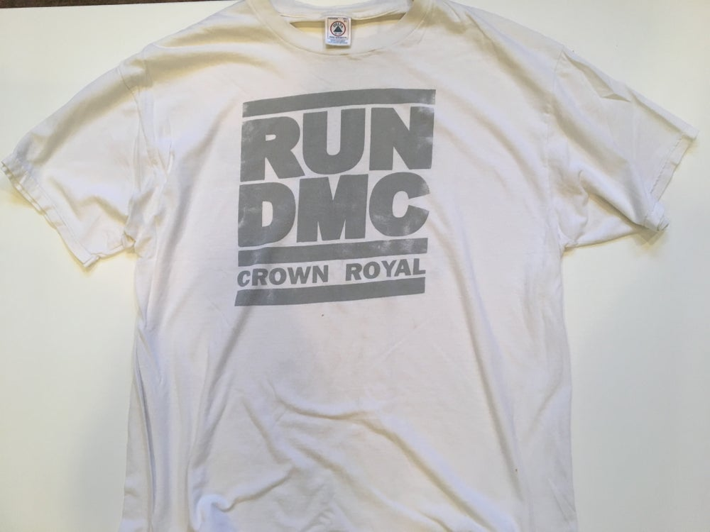 Image of RUN DMC | Adidas | Crown Royal Promotional Tee