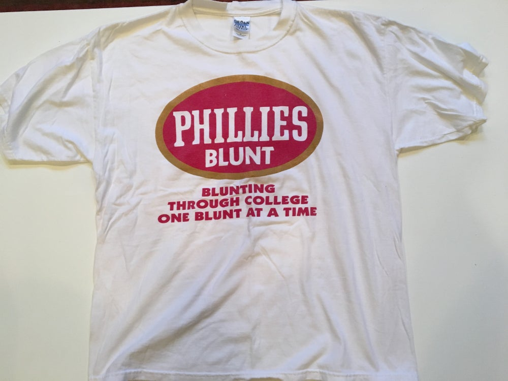 Image of Phillies Blunt Vintage College Tee