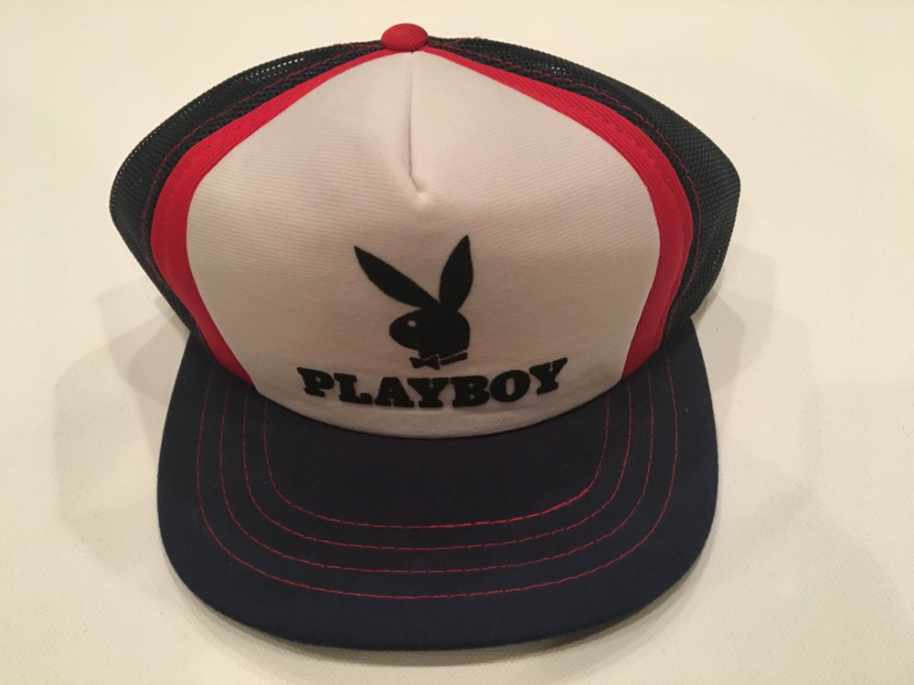 Image of Vintage Mesh Playboy Trucker Hat