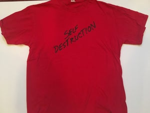 Image of KRS-One Self Destruction Vintage Tee | Stop the Violence Movement 1987