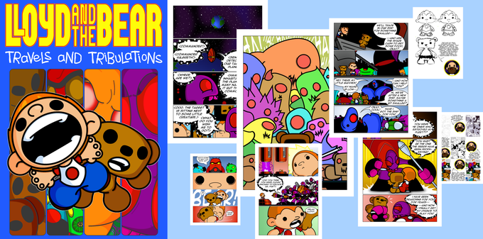 Image of Lloyd and the Bear Volume 1 - Travels and Tribulations