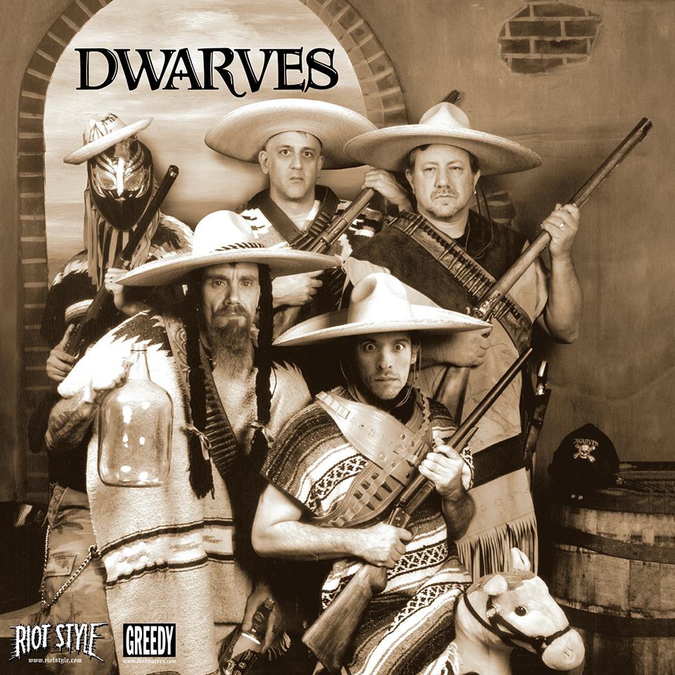 The Dwarves - Julio EP 7-Inch Vinyl Single Out Now On Riot Style!