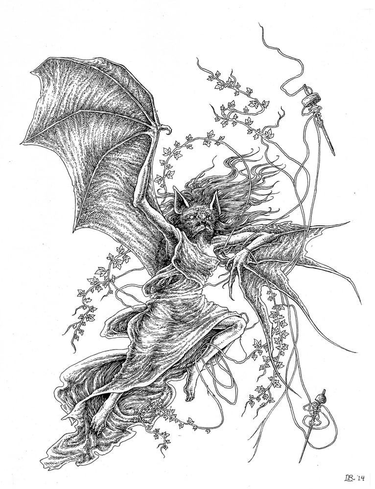 """Image of """"Alcitho'e"""" original artwork"""