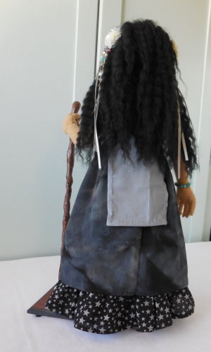 Image of Midnight Witch art doll