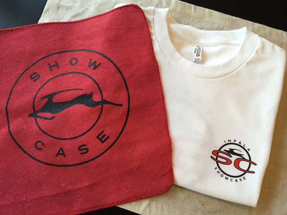 Image of Trey SC shirt XXL with shop towel