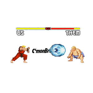 Image of Us VS Them FIGHT!