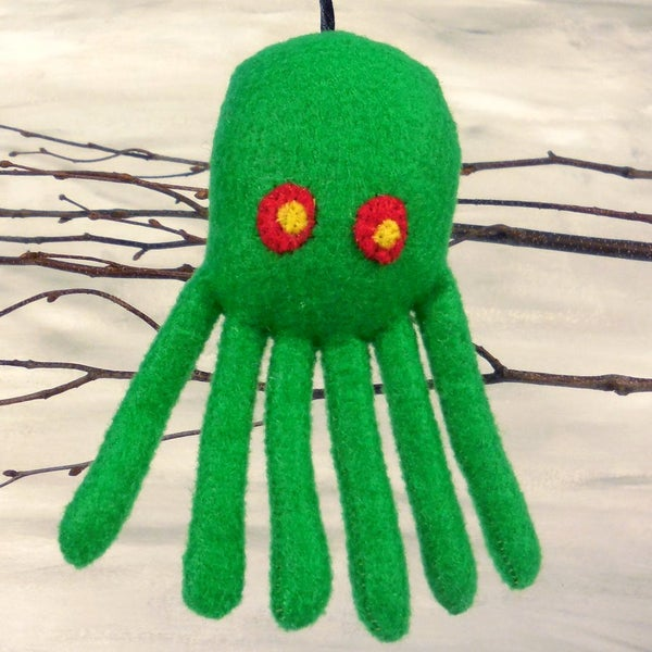 Image of Cthulhu ornament