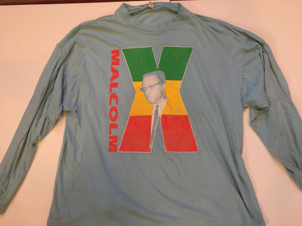 Image of Vintage Malcolm X Long Sleeve Shirt