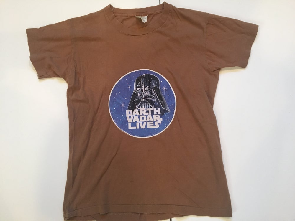 Image of Vintage Star Wars | Darth Vadar Tee 1977