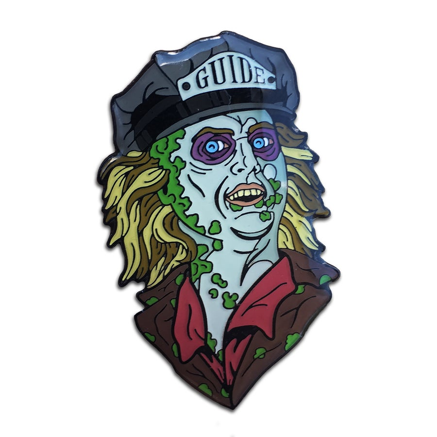 Image of Ghost Guide - Lapel Pin