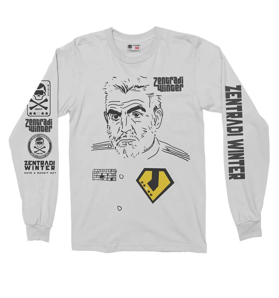 Image of The Captain Ramius Longsleeve Tee **Restocked**