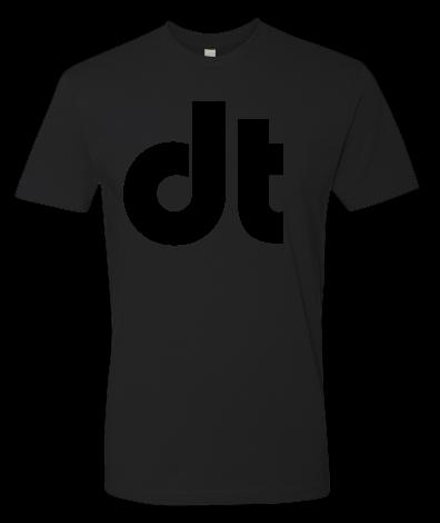 Image of Drumtacs DT Black on Black Shirt