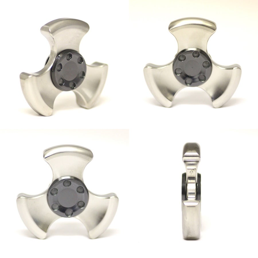 "Image of ""Oil Slick"" Zirc Buttons"