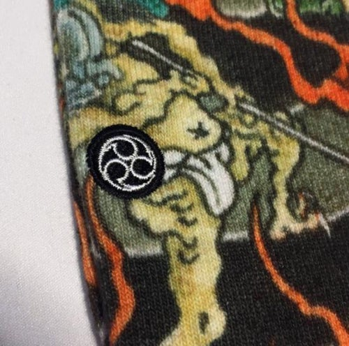 "Image of 3TIDES x UBIQ ""IREZUMI"" SOCKS【Yokaizufu】"