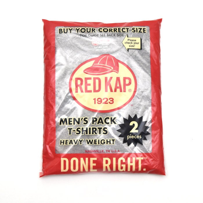 Image of RED KAP 6.7oz PACK TSHIRT -Grey (without pocket)