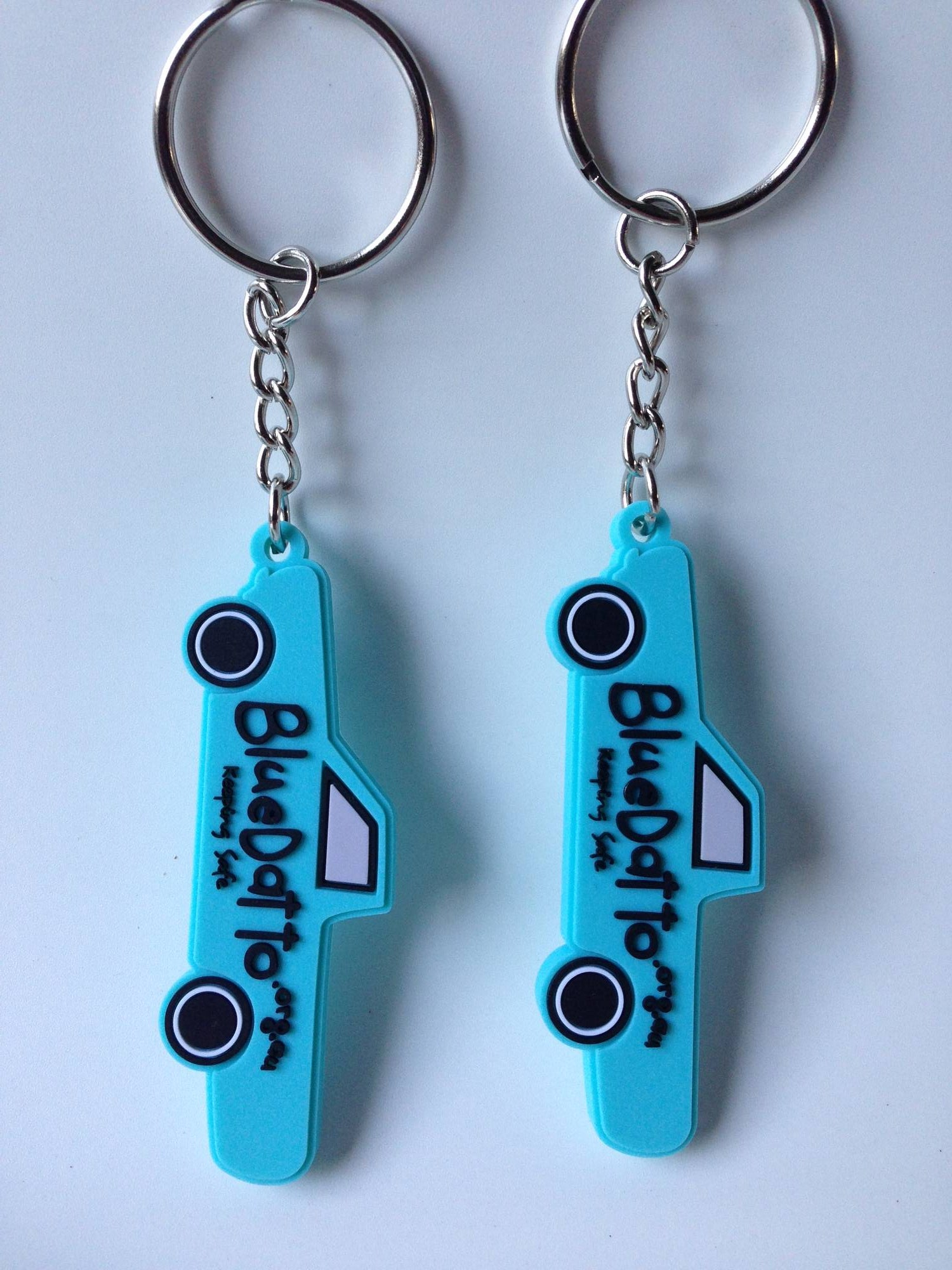 Image of Blue Datto Keychain