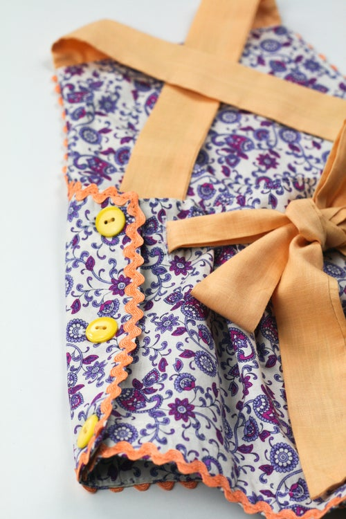 Image of Vintage Bambini Playsuit - Paisley