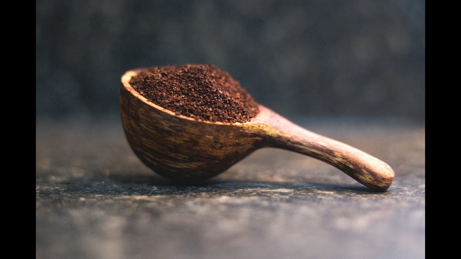 Image of Red Oak Coffee Scoop