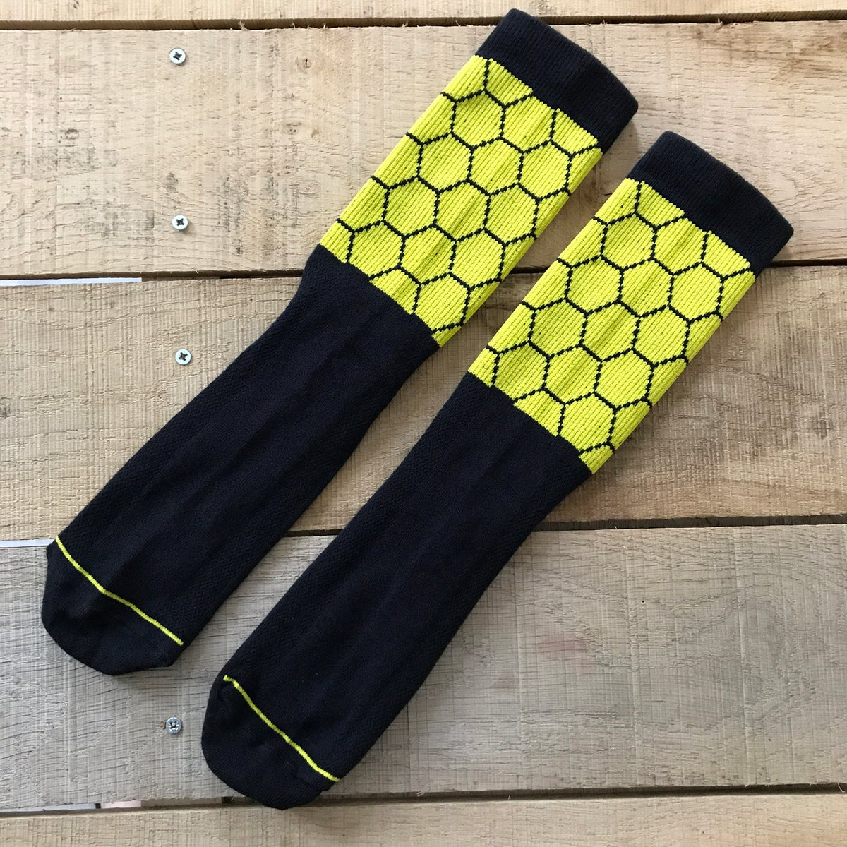 Image of Manchester Bee SWARM Cycling Socks