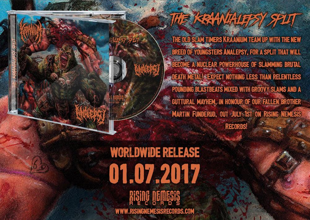 KRAANIUM / ANALEPSY - The Kraanialepsy Split-CD