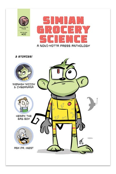 Image of Simian Grocery Science - NYP #00