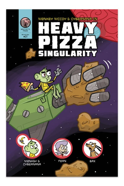 Image of Heavy Pizza Singularity - NYP #01