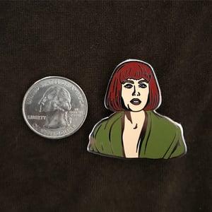 Image of Maude Lebowski pin