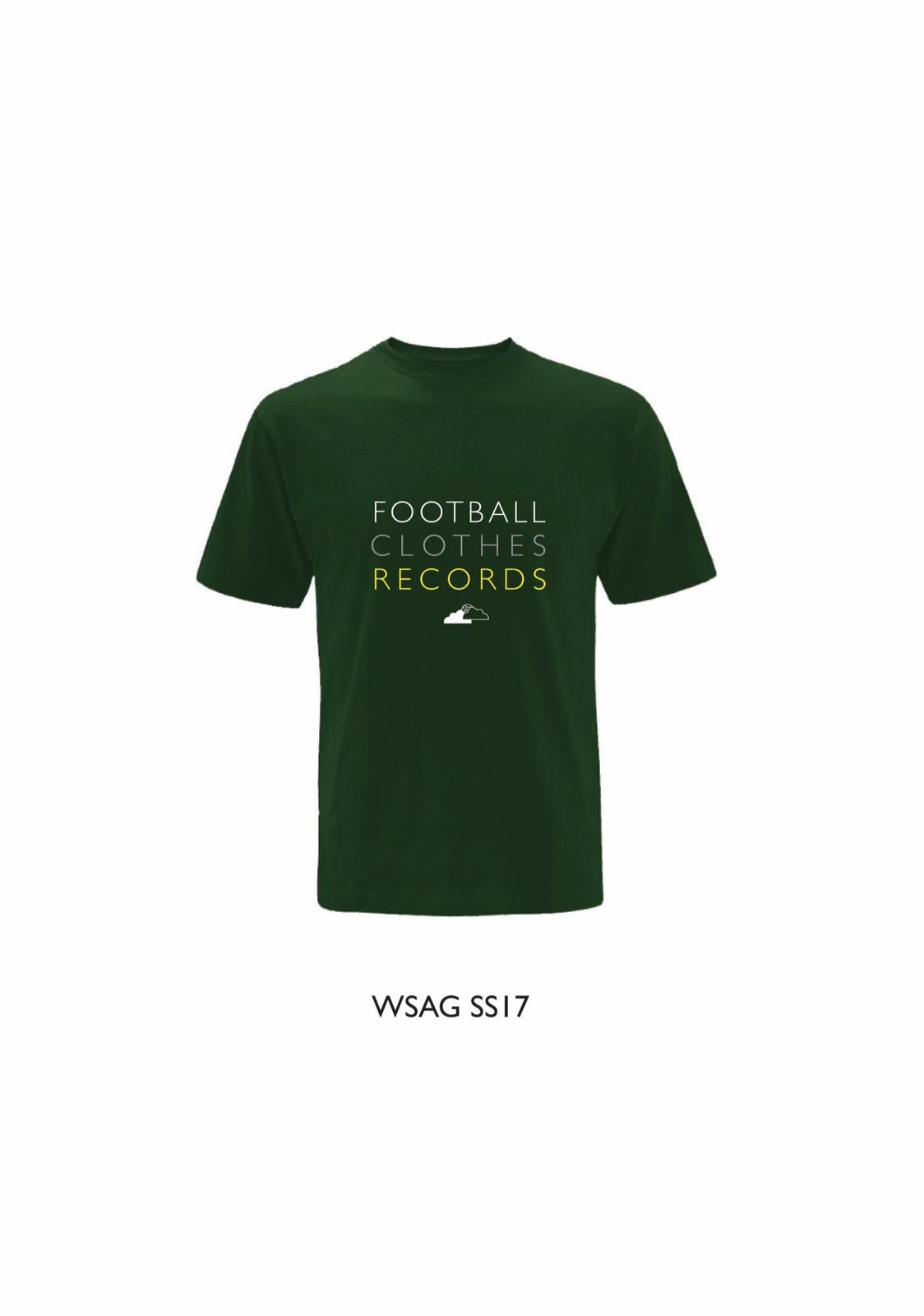 Image of FOOTBALL, CLOTHES, RECORDS (Racing Green)
