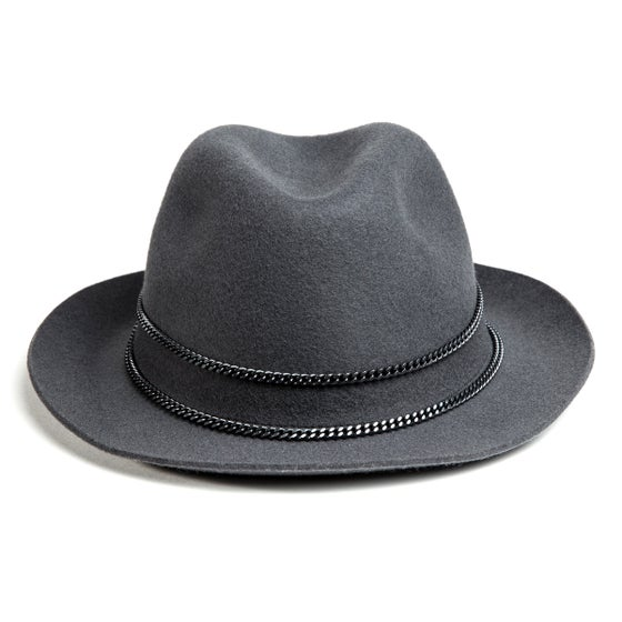 Image of GREY or BLACK TRILBY JAPPELOUP BLACK