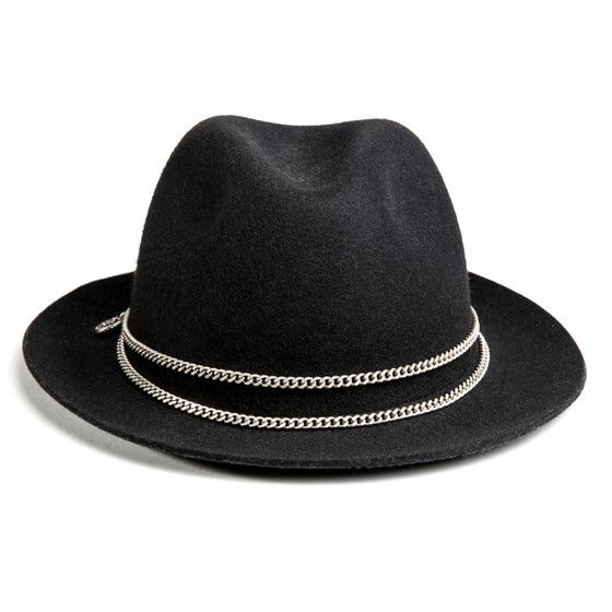 Image of BLACK or GREY TRILBY JAPPELOUP SILVER