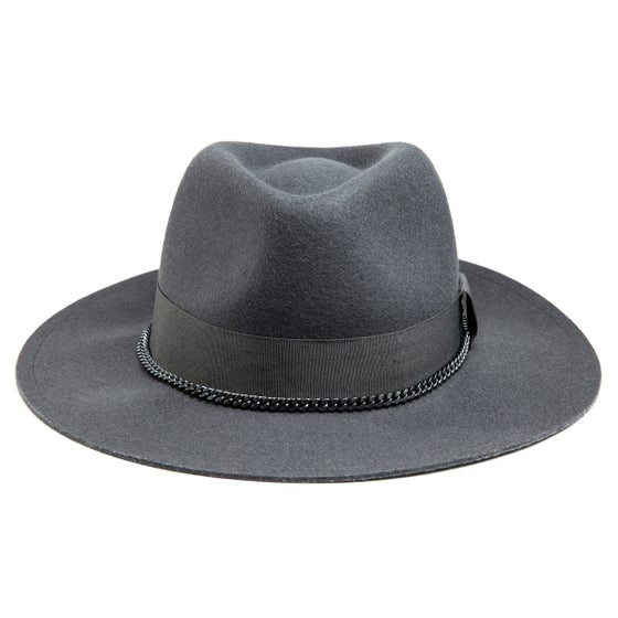 Image of GREY FEDORA QUIDAM
