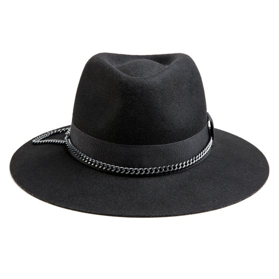 Image of BLACK or GREY FEDORA QUITO