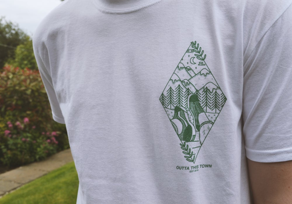 Image of Where I Need To Be T-shirt White