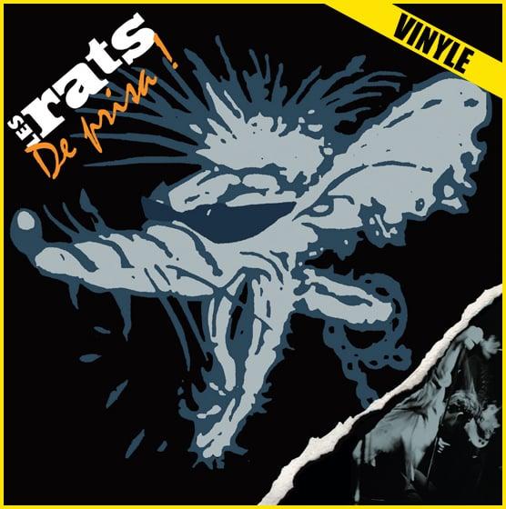 """LES RATS """"De Prisa"""" 2xLP réédition 2017"""