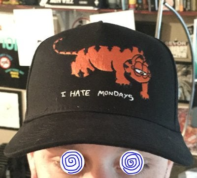 Image of Hats - Never 4get 420 & 'I hate Monday's'