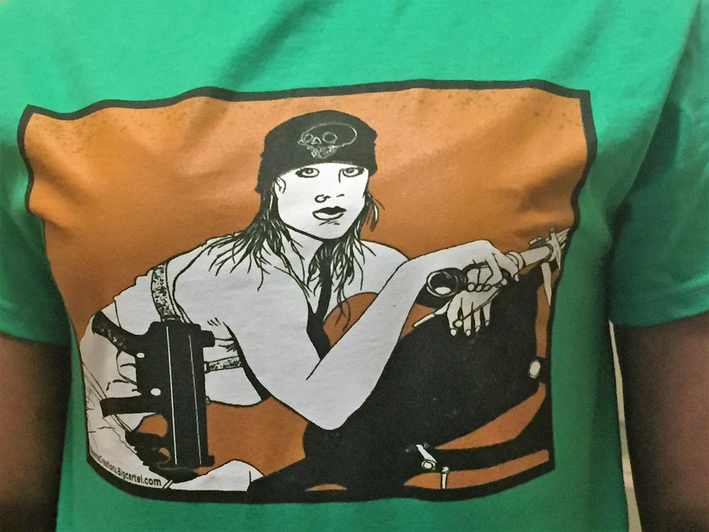 Image of Biker Gunchick T-Shirt!