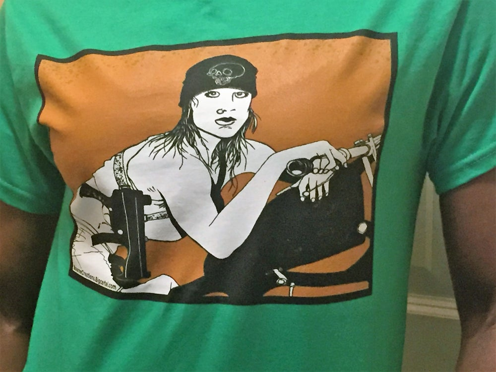 Image of Biker Gunchick T-Shirt!
