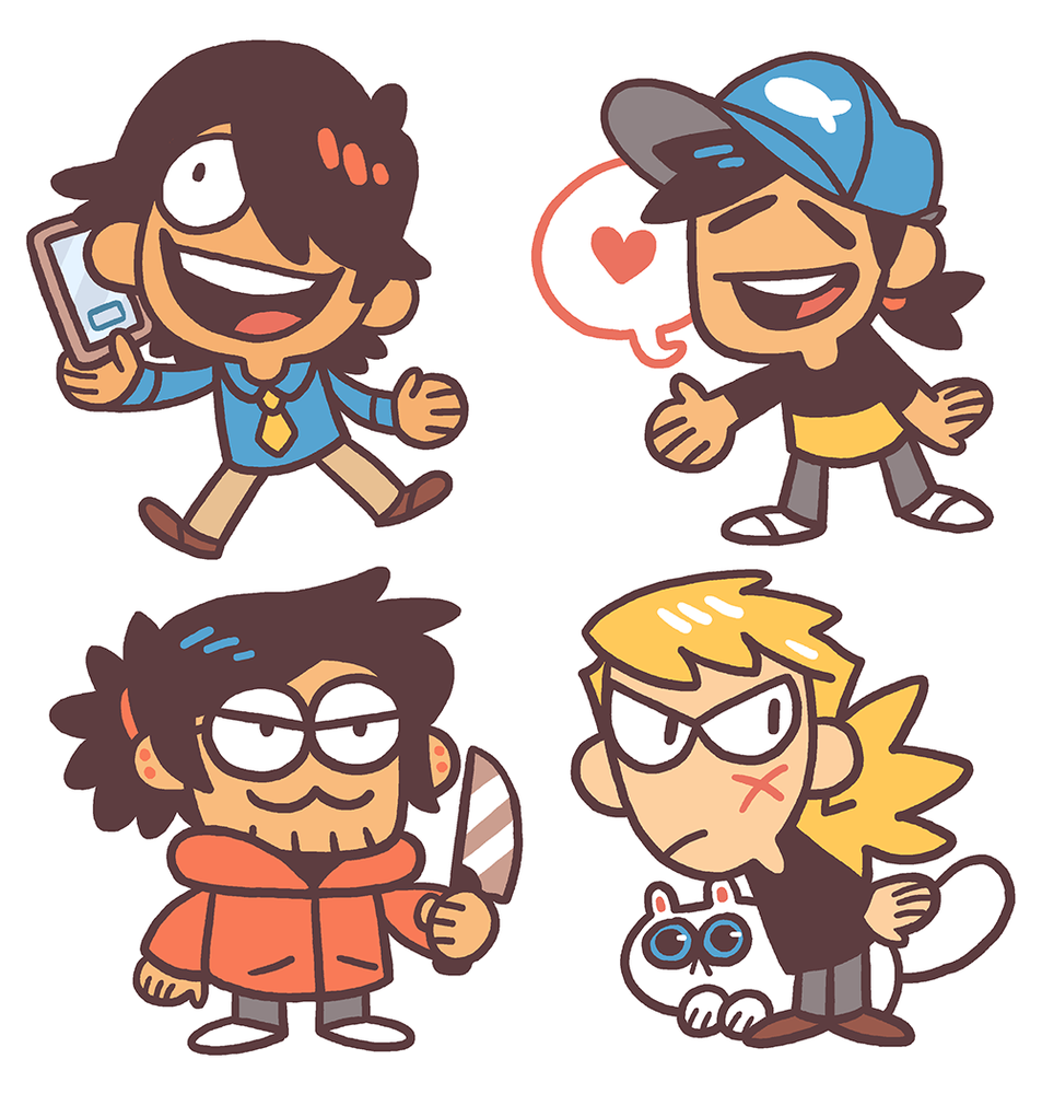 "Image of 1"" SAKANA Keychains: Set A"
