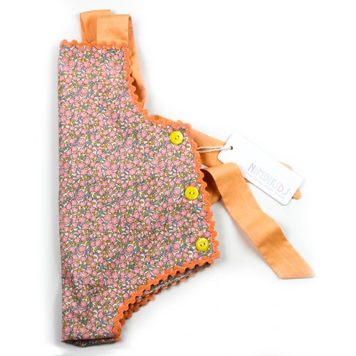 Image of Vintage Bambini Playsuit - Peach Blossom