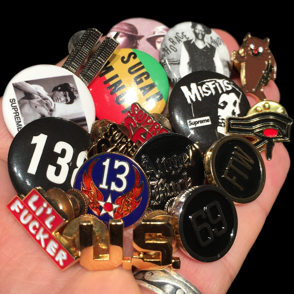 Image of 2013 Pins & Buttons