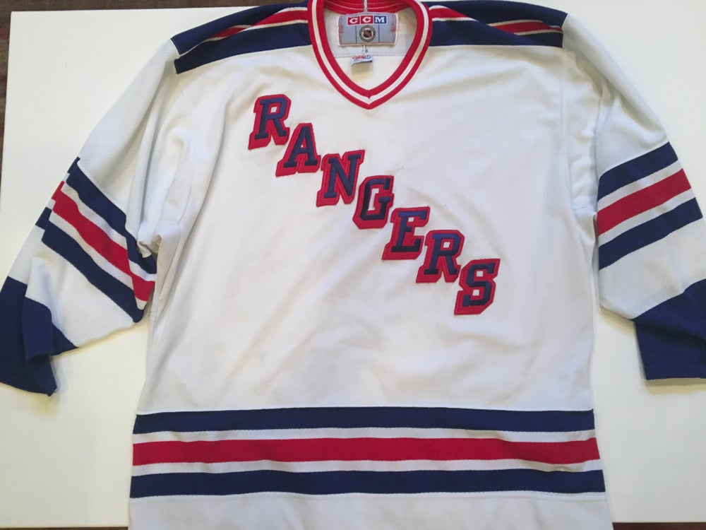 competitive price 7a3e6 76b85 Authentic Vintage CCM NY Rangers Jersey