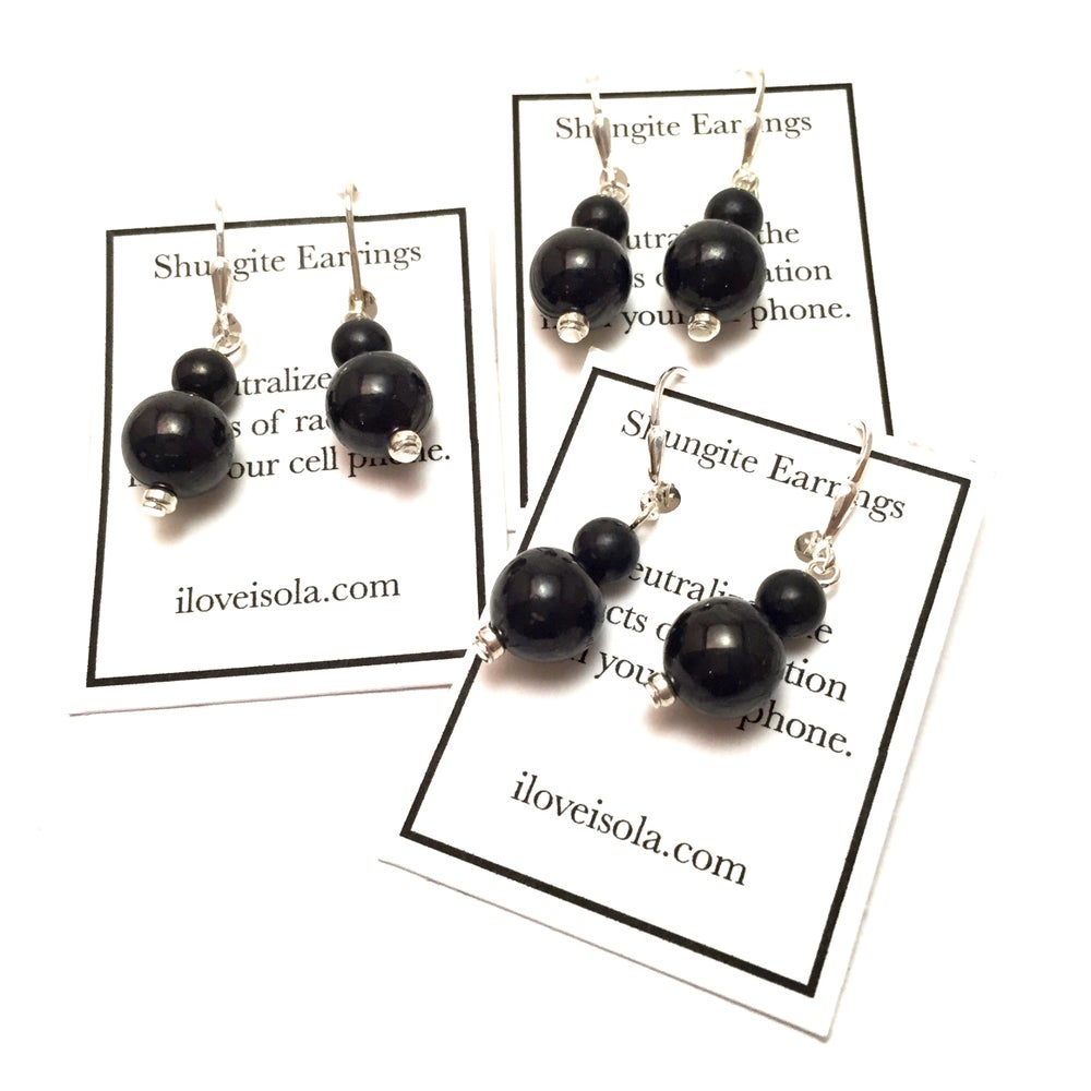 Image of Shungite Earrings