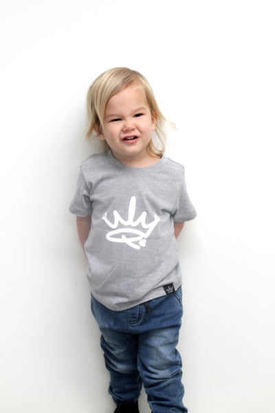 Image of MINI ME TEE - GREY