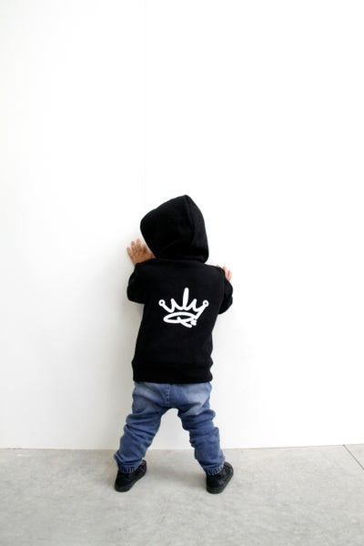 Image of MINI ME HOODIE - BLACK