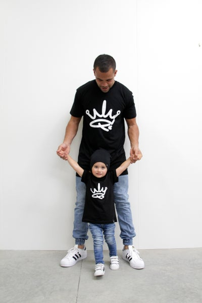 Image of MINI ME TEE - BLACK