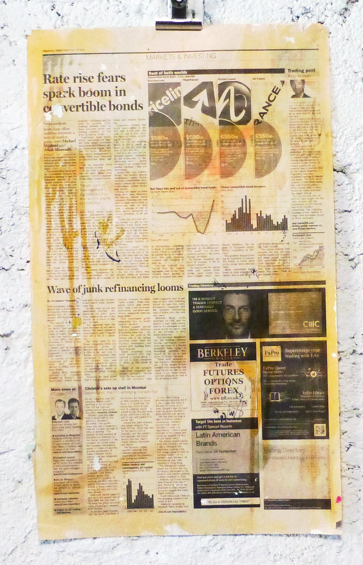 Image of FINANCIAL TIMES 2013