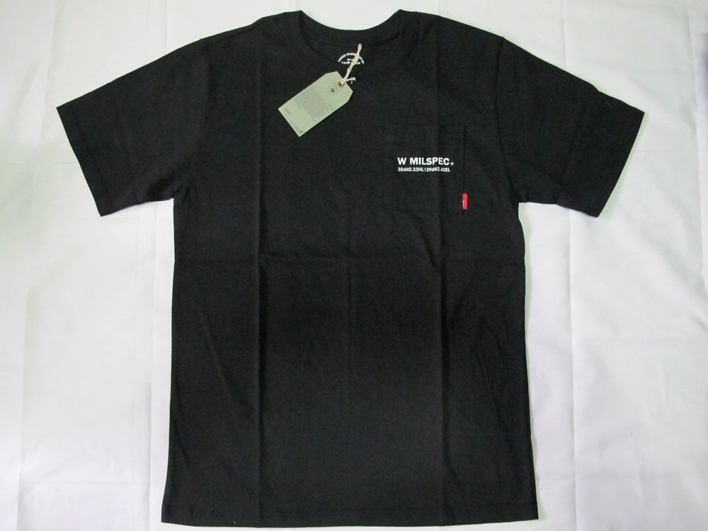 Image of Wtaps - W Mill Pocket Tee (Black)