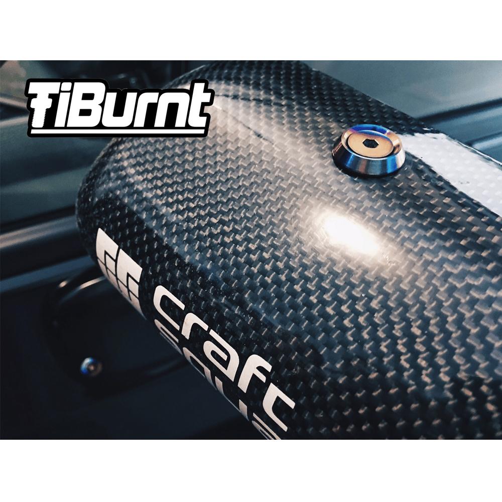 Image of TiBurnt Titanium FRS/BRZ/86 Craft Square Mirror Bolts